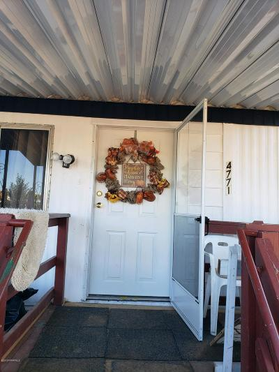 Yavapai County Mobile/Manufactured For Sale: 4771 N Ranger Road
