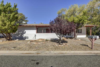 Prescott AZ Single Family Home For Sale: $249,000