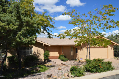 Prescott AZ Single Family Home For Sale: $579,500