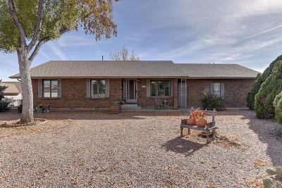 Prescott Valley Single Family Home For Sale: 4483 N Calle Santa Cruz