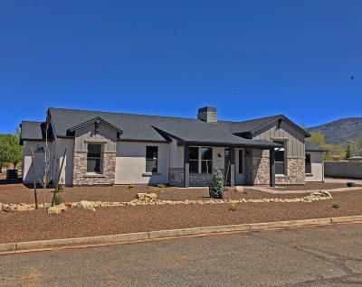 Prescott Valley Single Family Home For Sale: 13200 E Trigger Road