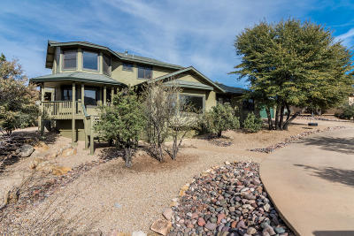 Prescott Single Family Home For Sale: 1908 Woods Trail