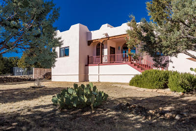 Prescott AZ Single Family Home For Sale: $540,000