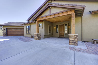 Prescott Single Family Home For Sale: 827 Scenic Pointe