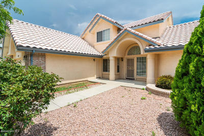 Prescott Single Family Home For Sale: 229 Valley View Court