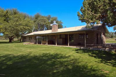 Chino Valley, Prescott, Prescott Valley, Skull Valley Single Family Home For Sale: 4500 N Tonto Road