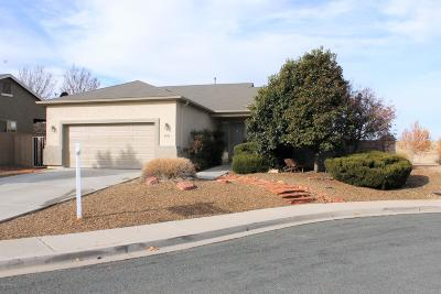 Prescott Valley Single Family Home For Sale: 4886 N Wycliffe Drive