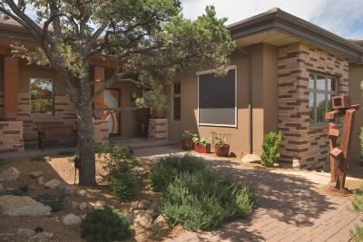 Prescott Single Family Home For Sale: 6235 W Almosta Ranch Road
