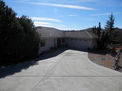 Prescott Single Family Home For Sale: 1187 Fawn Lane
