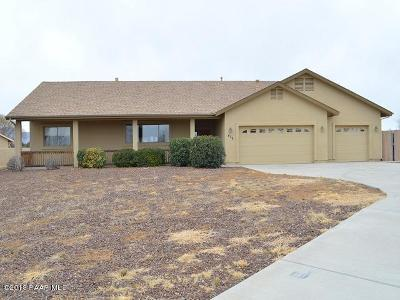 Chino Valley Single Family Home For Sale: 430 Lauren Lane