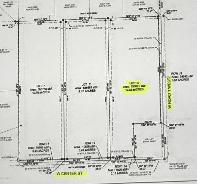 Chino Valley Residential Lots & Land For Sale: 0000h W Center Street