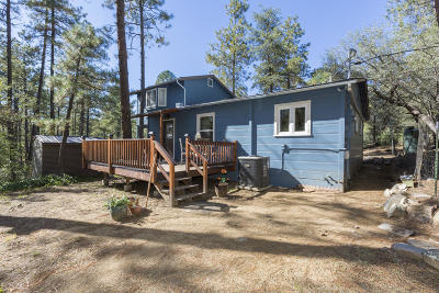 Prescott AZ Single Family Home For Sale: $306,000