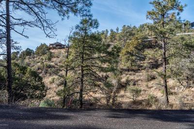Prescott Residential Lots & Land For Sale: 1830 N Arrowhead Drive