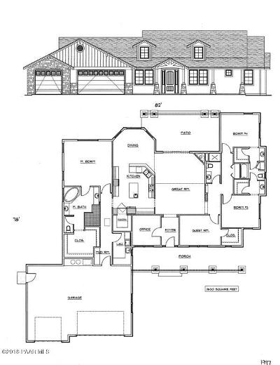 Chino Valley, Dewey-humboldt, Prescott, Prescott Valley Single Family Home For Sale: 1992 Barrett Drive