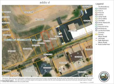 Prescott, Prescott Valley, Chino Valley, Dewey-humboldt Residential Lots & Land For Sale: 7457 E Addis Avenue