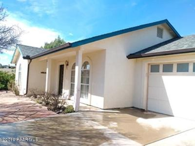 Chino Valley Single Family Home For Sale: 6590 N Gray Gos Road