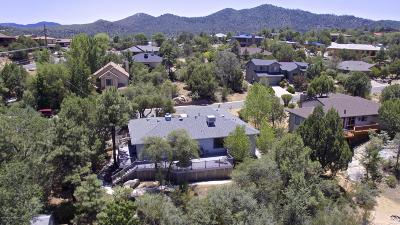 Prescott Single Family Home For Sale: 1444 Vista Road