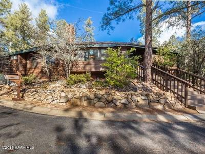 Prescott Single Family Home For Sale: 1450 Pine Tree Lane