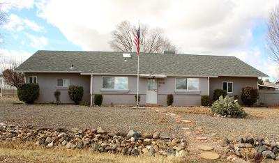 Prescott Valley Single Family Home For Sale: 5536 N Wickiup Road #15