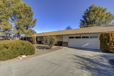 Dewey-Humboldt Single Family Home For Sale: 693 Mohave Trail