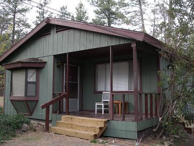 Groom Creek, Prescott, Walker Single Family Home Pending - Take Backup: 2500 W Copper Basin Road
