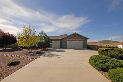 Prescott Valley Single Family Home For Sale: 13201 E Trigger Road