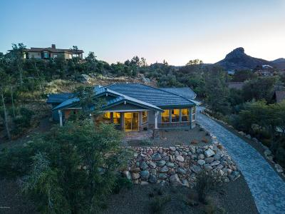 Prescott Single Family Home For Sale: 1860 Enchanted Canyon Way
