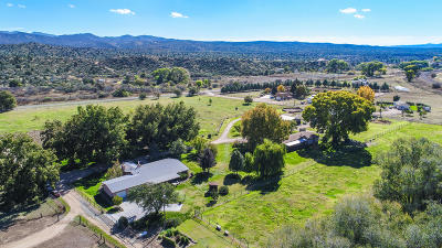 Chino Valley, Prescott, Prescott Valley, Skull Valley Single Family Home For Sale: 12345 W Elderberry Lane
