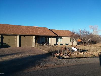 Prescott Valley Single Family Home For Sale: 3444 N Etheridge (2 Lots) Drive