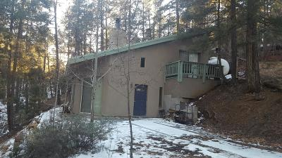 Groom Creek, Prescott, Walker Single Family Home For Sale: 3985 E Blue John Lane