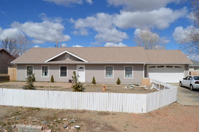 Prescott Valley Single Family Home For Sale: 8696 E Apache Drive