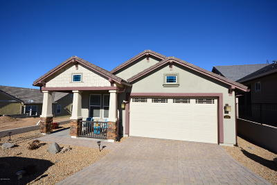 Prescott AZ Single Family Home For Sale: $469,000