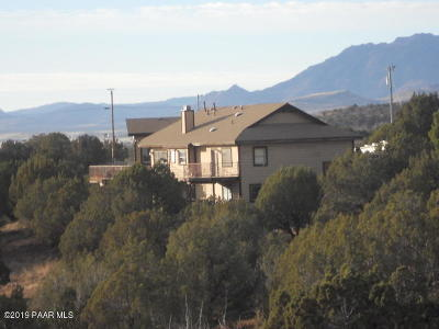 Yavapai County Single Family Home For Sale: 5075 N Yuma Drive