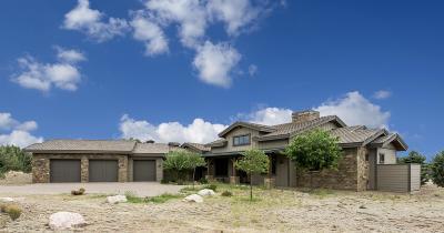 Prescott AZ Single Family Home For Sale: $735,000