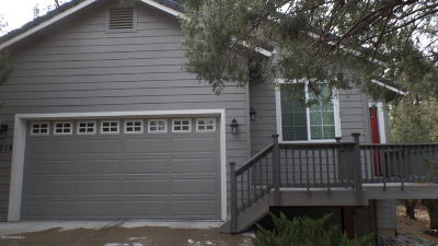 Prescott Single Family Home For Sale: 1718 Timberlane