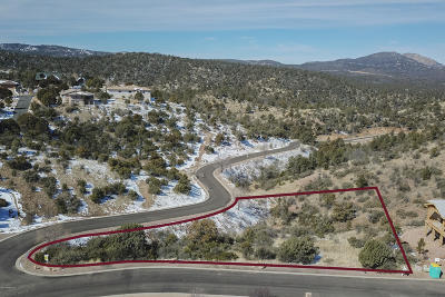 Prescott Residential Lots & Land For Sale: 1434 Hollowside Way