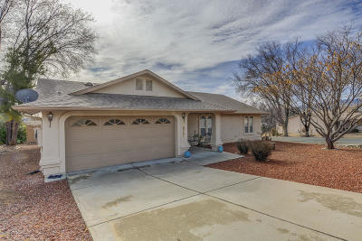 Dewey-humboldt Single Family Home For Sale: 10751 E Oxbow Drive
