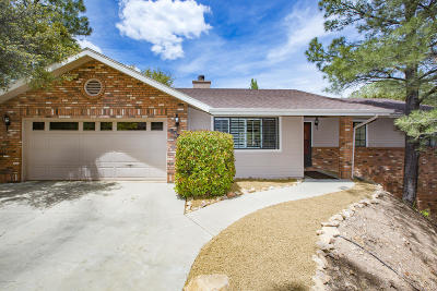 Prescott Single Family Home For Sale: 1796 Rolling Hills Drive