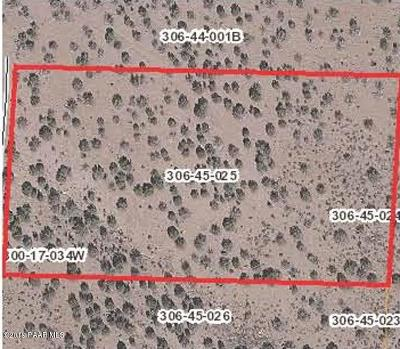 Chino Valley Residential Lots & Land For Sale: 4975 N Tanner Mountain Road