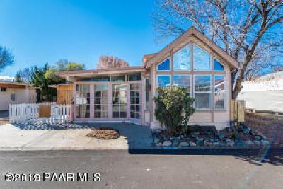 Yavapai County Mobile/Manufactured For Sale: 832 N Creekview Drive