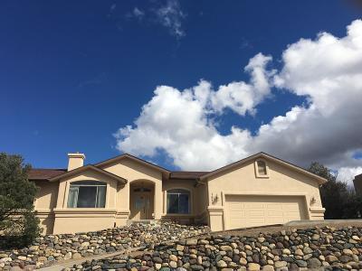 Prescott Single Family Home For Sale: 1573 Eagle Point Drive