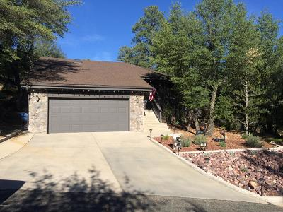 Prescott Single Family Home For Sale: 250 Edgewood Court