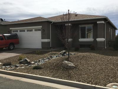 Prescott Valley Single Family Home For Sale: 12729 E Ortiz Street