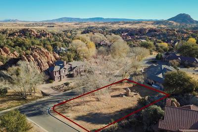 Prescott Residential Lots & Land For Sale: 2185 Boulder Creek Lane