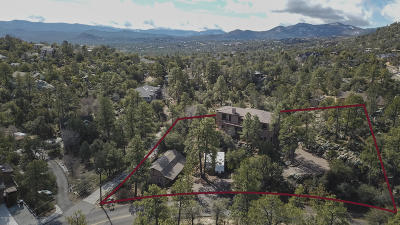 Prescott Single Family Home For Sale: 1999 Idylwild Road