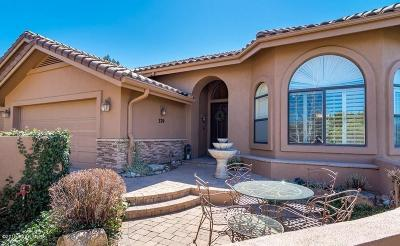 Prescott Single Family Home For Sale: 379 Summit Point Drive