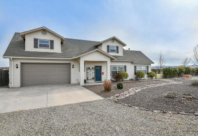 Prescott Valley Single Family Home For Sale: 8035 E Sparrow Hawk Road