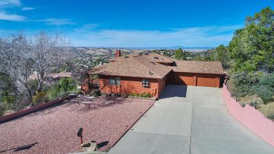 Prescott Single Family Home For Sale: 875 Devereaux Drive