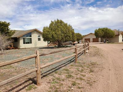 Chino Valley Single Family Home For Sale: 2750 W Eagle Ridge Drive