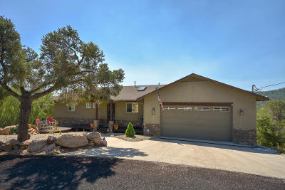 Prescott Single Family Home For Sale: 2089 View Point Road